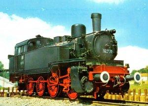 German Trains Baureihe 92 Gueterzug-Tenderlokomotive Baujahr 1910 Schichau St...