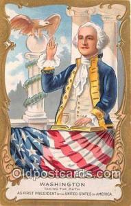 Washington Taking the Oath