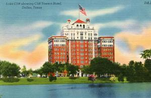 TX - Dallas, Lake Cliff Showing Cliff Towers Hotel
