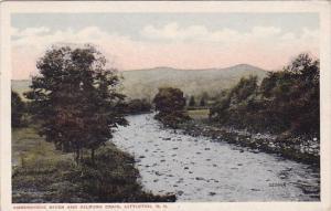 New Hampshire Littleton Ammonoosc River And Kilburn Craig