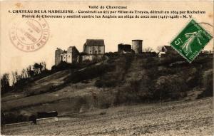 CPA Vallée de CHEVREUSE - Chateau de la Madeleine - Construit en 975 (353019)