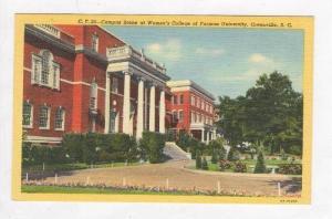 Campus,Women's College of Furman Univ.,Greenville,SC