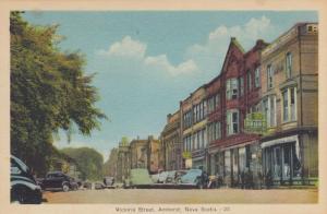 AMHERST, Nova Scotia, Canada , PU-1948; Victoria Street
