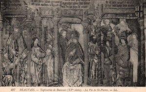 Tapisseries de Beauvais,La Vie du St-Pierre,Beauvais,France BIN