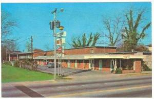 Sexton's Uptown Motel, Florence, South Carolina, 40-60s