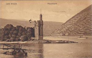 Germany Bingen Der Maeuseturm