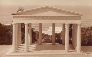 Point Loma California Theosophical Doric Stoa Real Photo Postcard J70923