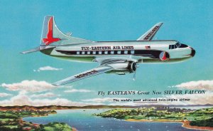 1950-1960s; Fly-Eastern Air LInes, SILVER FALCON Twin-Engine Airliner