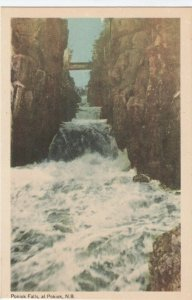 POKIOK, New Brunswick , Canada , 1930s; Pokiok Falls