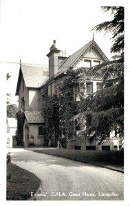 Wales Eiriana C.H.A. Guest House Llangollen RPPC 05.01