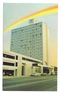 Rainbow Lincoln NE Hilton Hotel 9th and P Streets Nebraska Vintage Postcard