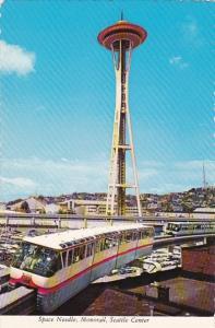 Space Needle Monorail Seattle Center Seattle Washington