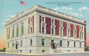 Missouri Joplin United States Court House and Past Office