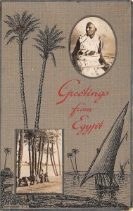 br106535 greetings from egypt egypt photo montage fantasy africa