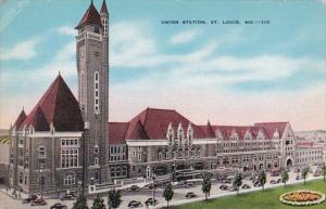 MIssouri St Louis Union Station 1942