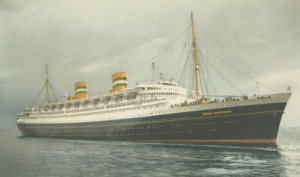 Holland America Line Ocean Liner S.S. NIEUW AMSTERDAM , 1930s