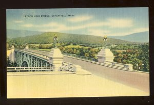 Greenfield, Massachusetts/MA Postcard, French King Bridge