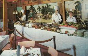FORT LAUDERDALE , Florida , 50-60s ; Escape Hotel , Buffet