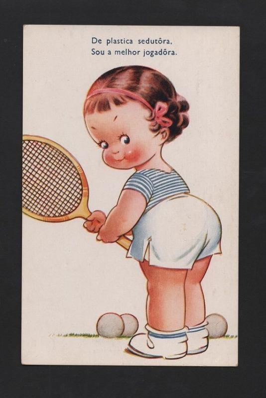Art postcard 1930years lovley fat pin up girl tennis player sports art postcard 1930years lovley fat pin up girl tennis player sports z1 xx thecheapjerseys Images