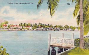 Florida Miami Beach Indian Creek 1949