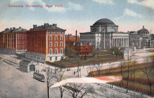 Columbia University, New York, N.Y., Early Postcard, Unused