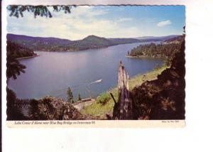 Lake Coeur d'Alene near Blue Bay Bridge, Interstate 90, Idaho, Photo Ross Hall