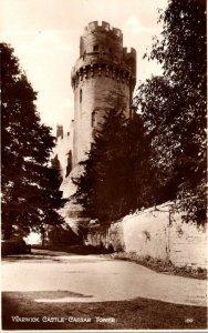 England Warwick Castle Caesar Tower Real Photo