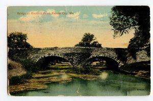 Postcard Bridge on Rockhill Road Kansas City Mo. Missouri Standard View Card