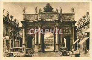Old Postcard Nancy Arc de Triomphe