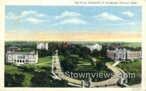 Oval, University of Oklahoma Norman OK Unused