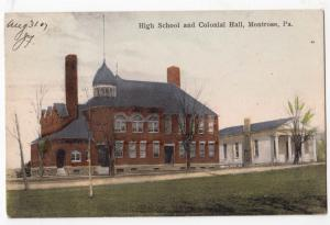 High School & Colonial Hall, Montrose PA
