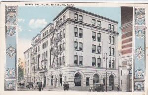 Hotel Bondmore, HARTFORD, Connecticut, 1910-1920s