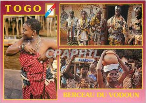 Postcard Modern Togo cradle of Voodoo