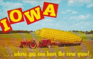 Humour Exageration Iowa Where You Can Hear The Corn Grow