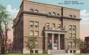 Masonic Temple, The Steel City, GARY, INDIANA, 30-40s