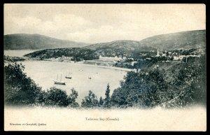 dc1239 - TADOUSAC Quebec Postcard 1910s Bay View by Bilaudeau & Campbell