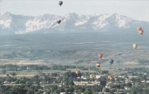 Hot Air Ballons, MONTROSE, Colorado, 40-60's