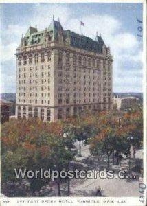 Fort Garry Hotel Winnipeg, Manitoba Canada Unused