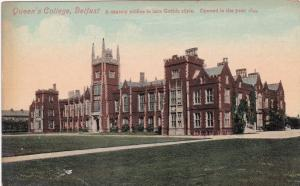 BELFAST, Northern Ireland, 00-10s; Queen's College, Stately edifice in late Goth