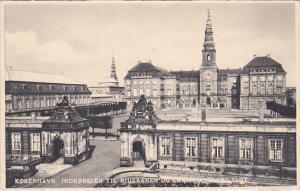 Indkorslen Til Ridebanen Og Christiansborg Slot, Kobenhavn, Denmark, 1910-1920s