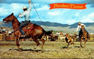 Rodeo Time Ranch Style Calf Roping