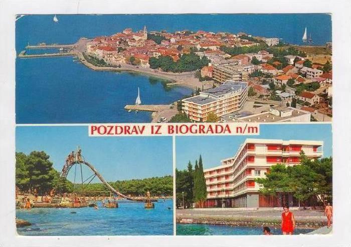3Views, Pozdrav Iz Biograda n/m, Jugoslavija, PU-1971