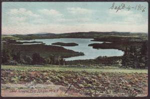 Lake Sunapee From Sunapee Mt,NH