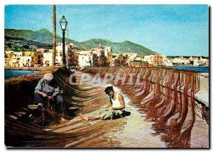 Postcard Modern Ischia Pecheurs
