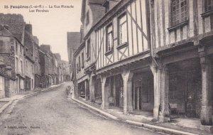 FOUGERES (I.-et-V.) , La Rue Pinterie, Les Porches , France , 00-10s