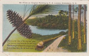 GREENSBORO, North Carolina, 00-10; From an Original Painting by F.O. Lawson