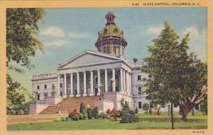 South Carolina Columbia State Capitol Building Curteich