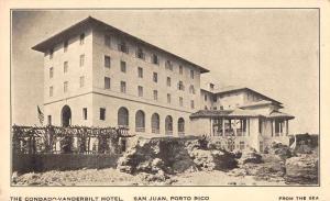 San Juan Porto Rico Puerto  Condado Vanderbilt Hotel Vintage Postcard JA4741946
