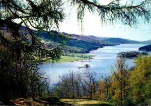 Scotland Perthshire The Queen's View Near Pitlochry 1971