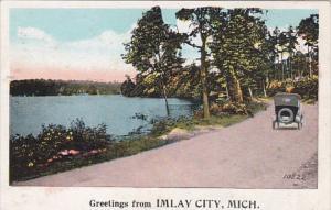 Michigan Greetings From Imlay City 1924